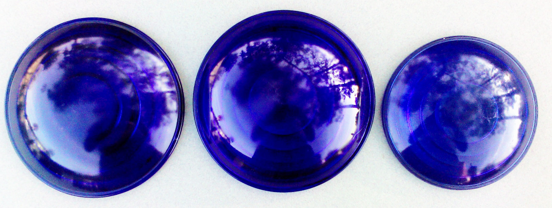 Here Are The Opposite Sides Of Three Bottom Lenses Shown Above From Left To Right Rsa Purple Blue And Lunar White