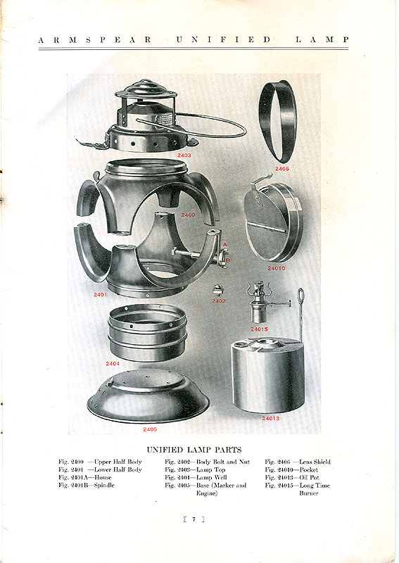 1933 Armspear Catalog Pages Railroadiana Online